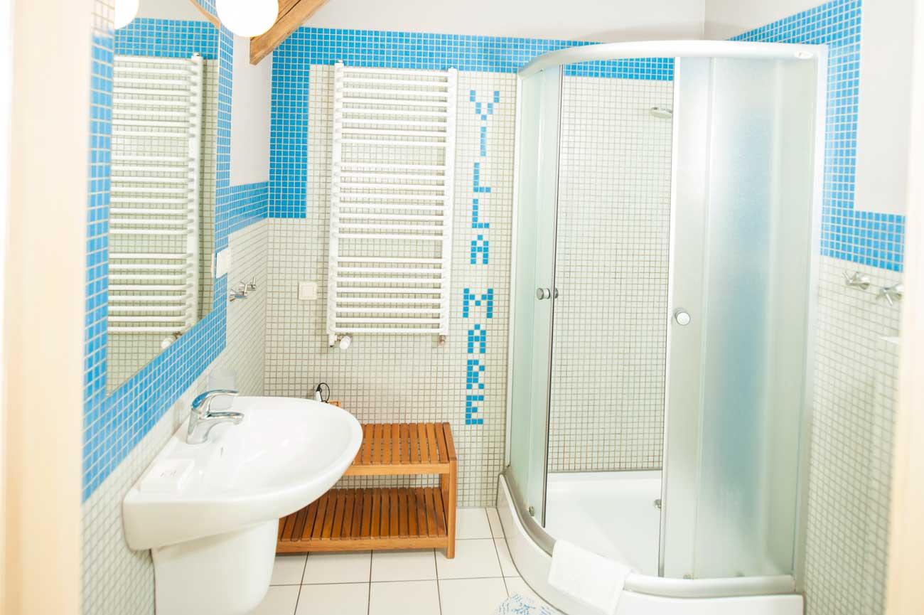 Łazienka w Apartamencie Muszelka