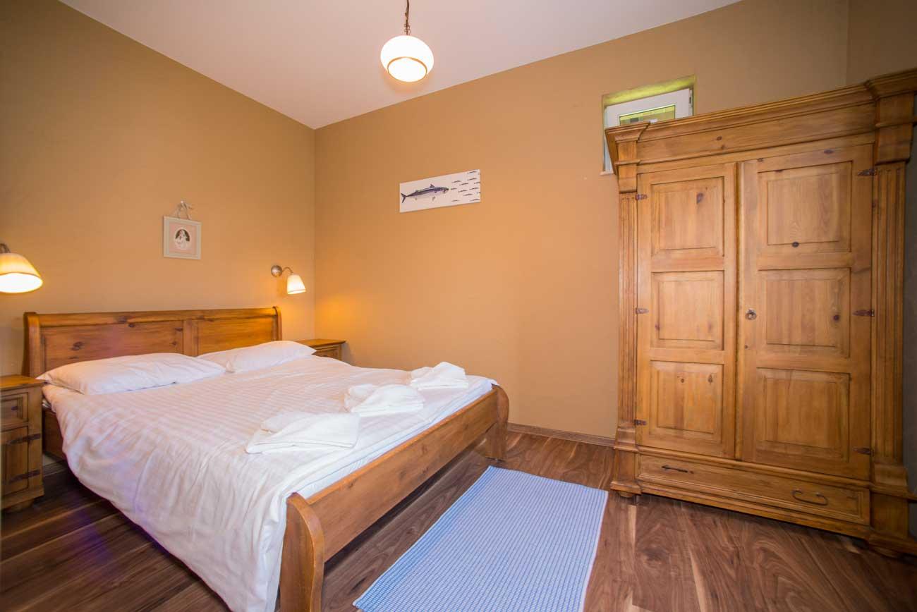 Sypialnia Tani apartament Róża Wiatrów , do wynajęcia