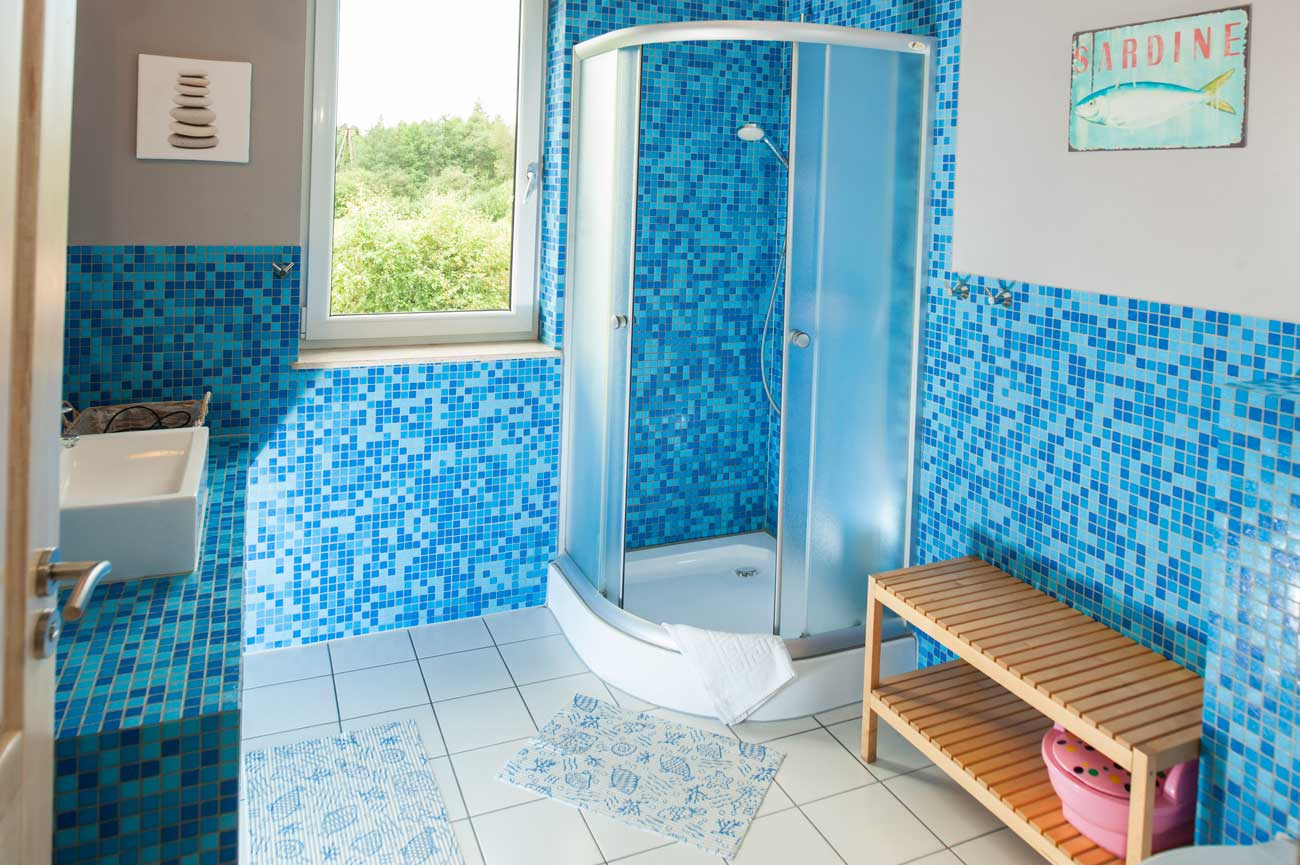 Widok na łazienkę w Apartamencie Toskańskim , do wynajęcia